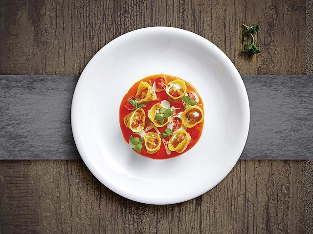 花红叶绿!清新口味-意式春日料理