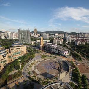 珠海新香洲片区风貌俯瞰