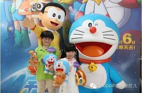 今夏香港四大卡通展览 哆啦a梦比卡丘等你来!图片