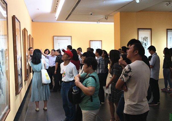 一览时代风华 20世纪中国美术名家精品展在广东美术馆开幕
