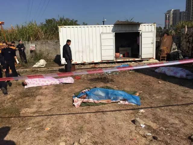 惠州4人在集装箱内烧炭取暖中毒遇难