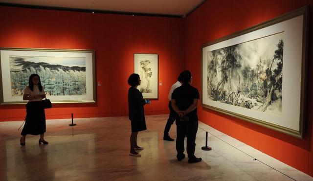 """快来看!广东这场会""""动""""的百年美术盛宴在深圳开幕"""
