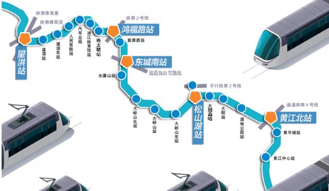 东莞地铁1号线线路图图片