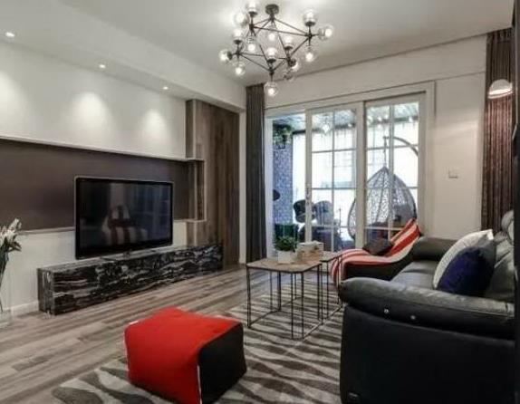 125㎡三室两厅现代风格装修,设计得真到位