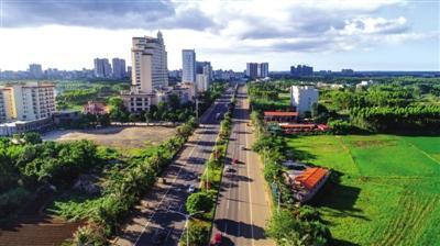 建设广东对接服务海南岛的南门户城市