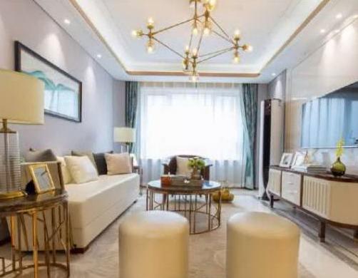 贵气又浪漫的现代风格家居装修设计