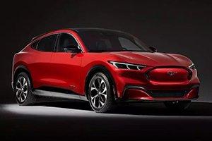 福特Mustang Mach-E奔驰EQB领衔 近期海外新车谍照汇总