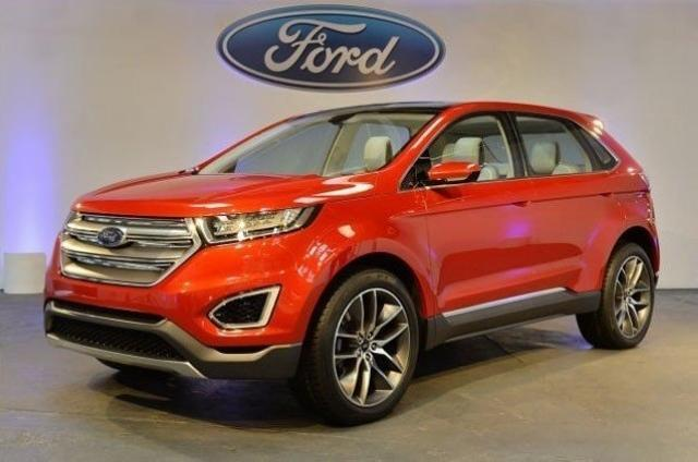 长安福特国产新车遭曝光 多款车型高清图片