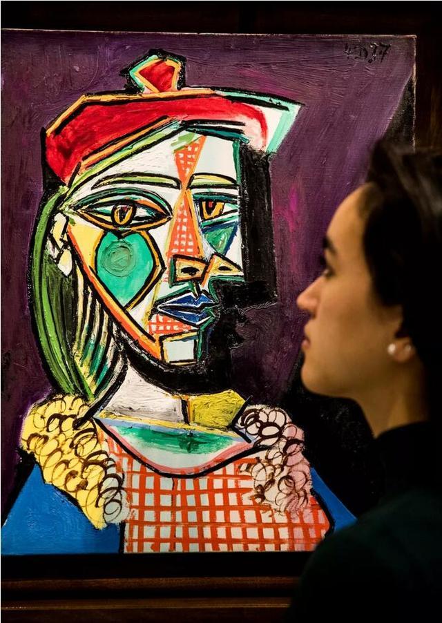 毕加索非凡肖像画率先亮相香港