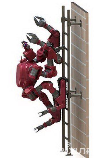 冬至主题墙简笔画-美 设计 真实版 变形 金刚 机器人 可行走攀爬墙壁