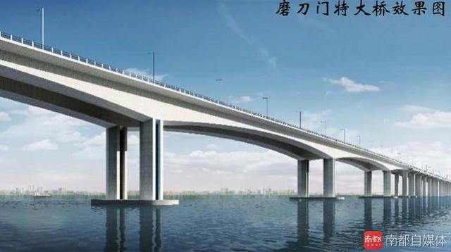 横跨珠海香洲、金湾、斗门的世纪大桥获批!西区15分钟到市区