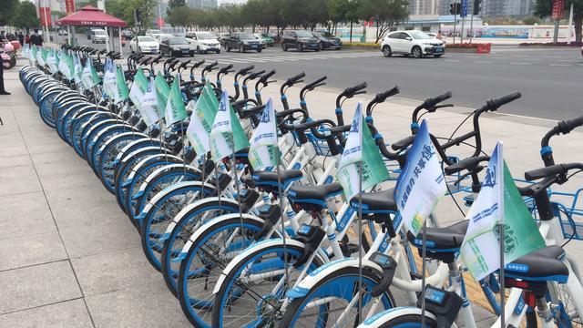 河源市税务部分开展骑行活动,绿色宣扬助创文