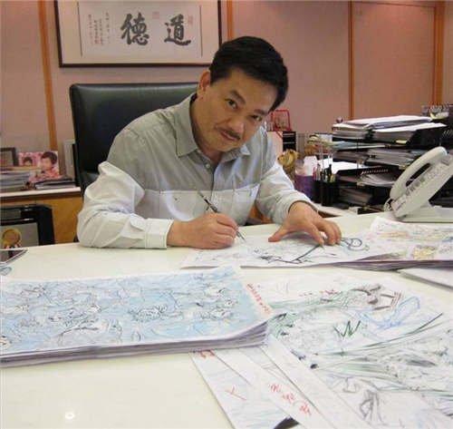 香港城x东港画风教父:传奇小说黄玉郎a画风50年漫画漫漫画图片