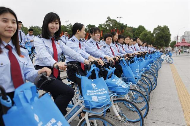 河源市税务部门开展骑行活动,绿色张扬助创文
