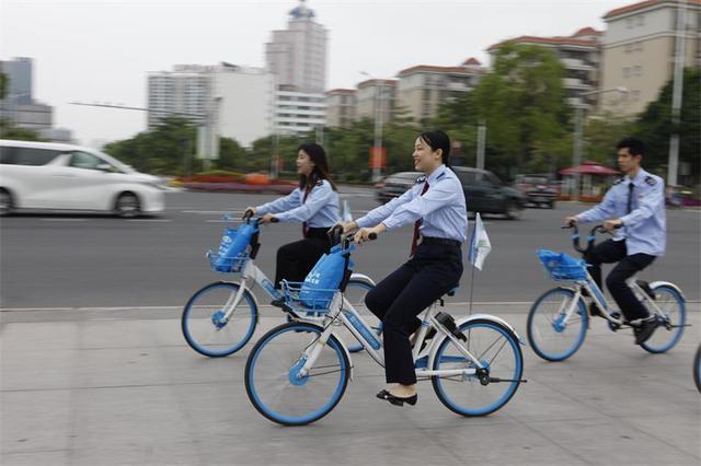 河源市税务部分开展骑行运动,绿色鼓吹助创文