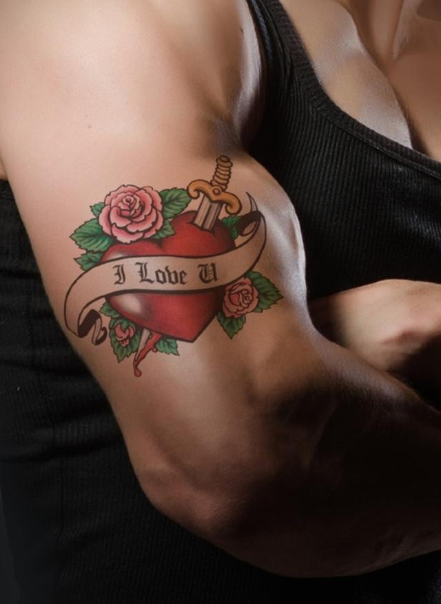 潮流爱纹身