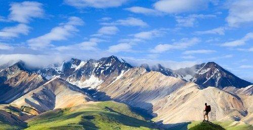 北美洲最高点:阿拉斯加麦金利山