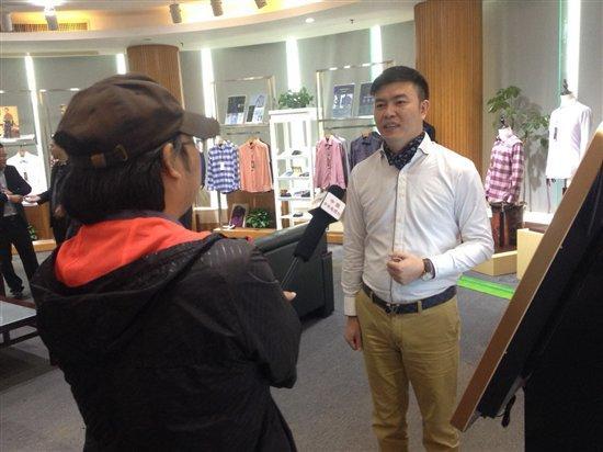 "CCTV2对话堡威定制: ""互联网+""衣定制改变服装业未来"