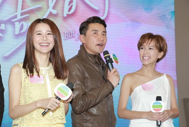 萧正楠最近有看过洪永城(中)跟黄翠如(左)的激吻戏,一定难受极