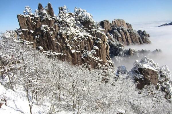 过白色圣诞 广东周边能看到雪景的地方