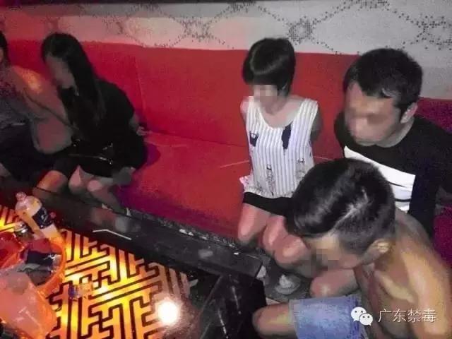 """肇庆一咖啡厅结业前夕变""""毒窝"""" 被警方一锅端"""
