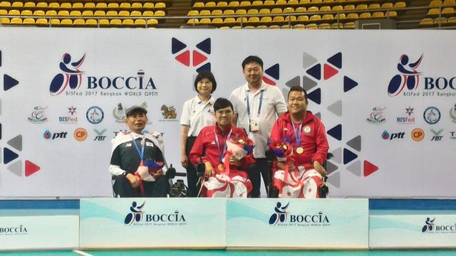 中国香港队于世界硬地滚球公开赛勇夺两金一铜
