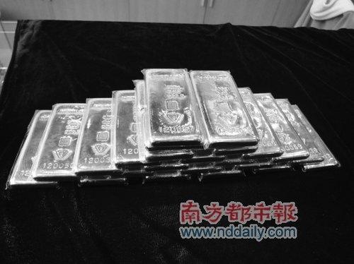 佛山师奶豪掷360多万元购10公斤黄金
