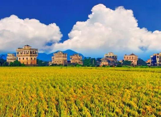 台山斗山镇浮月村列入中国传统村落名录