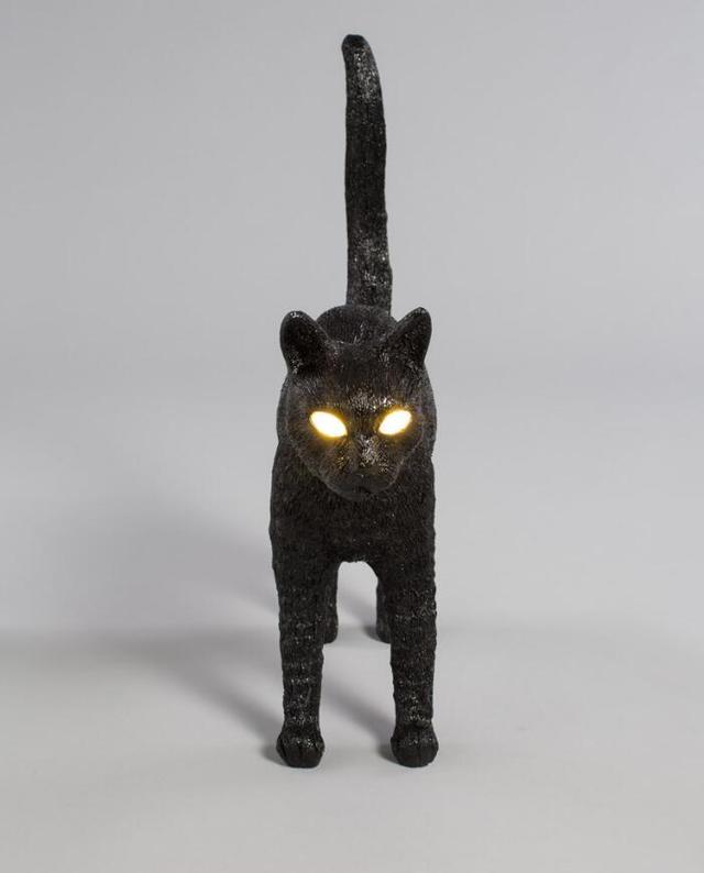 超逼真猫咪灯 闪亮双眼为你驱走黑暗