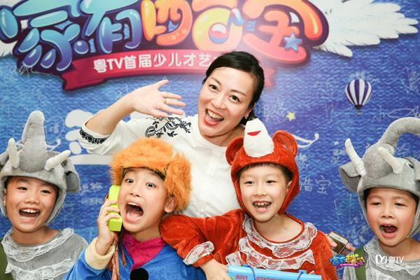 粤TV首届少儿才艺大赛启动 首场海选赛引爆广州