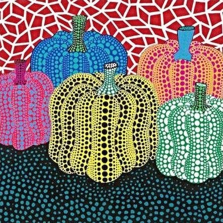 草间弥生:最爱南瓜的艺术家图片