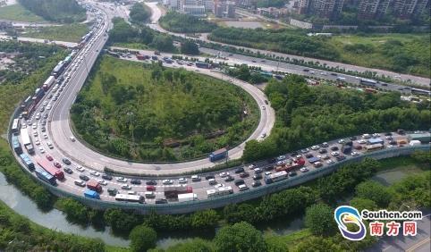 假期粤高速公路车流量约4870万 未发生重大以上安全生产事故