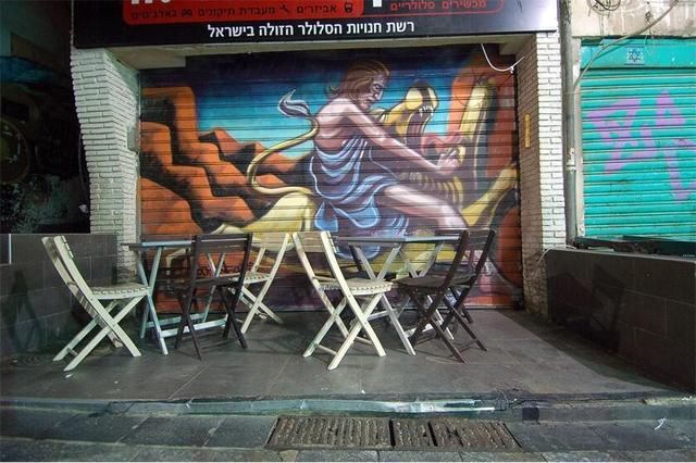 街头有嘻哈:国内外有哪些知名涂鸦圣地?