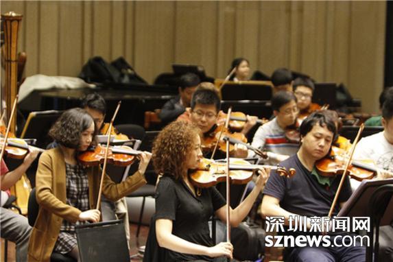 深圳交响乐团携手著名指挥家胡咏言打造听觉盛宴