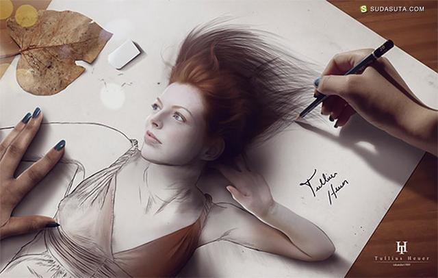Tullius Heuer 不可思议的绘画艺术