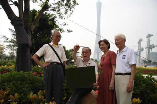 第八届全国文明家庭标兵:广州秦兆年、刘达莲家庭