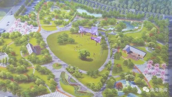 斗门又有新名片了!斗门市民公园最新进展来了.....