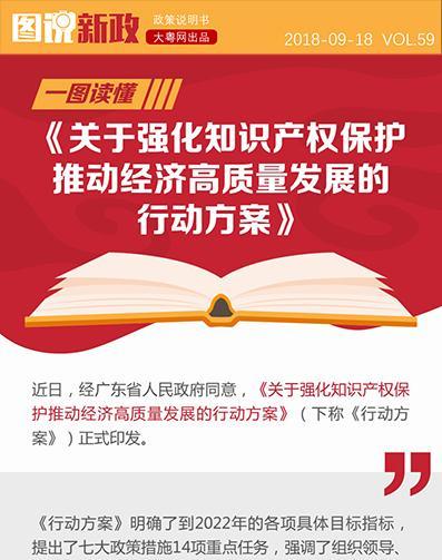 一图读懂《关于强化知识产权保护推动经济高质量发展的行动方案》