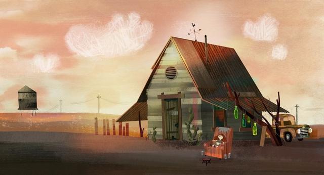 梦想成为插画师的得克萨斯州女孩 Chloe Bristol