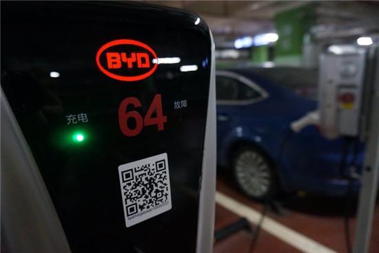 真实体验 深圳电动汽车充电桩现况
