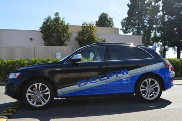 无人驾驶新能源车下月可试驾高清图片