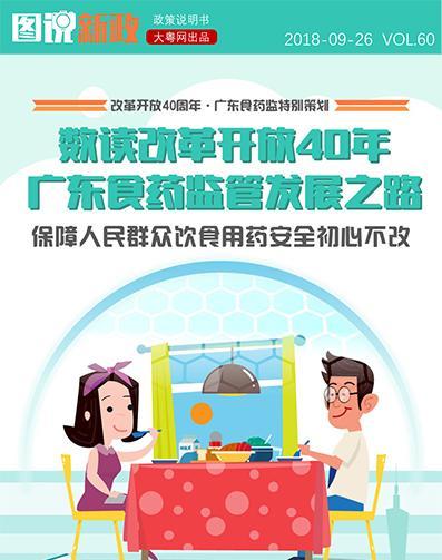 数读改革开放40年广东食药监管发展之路