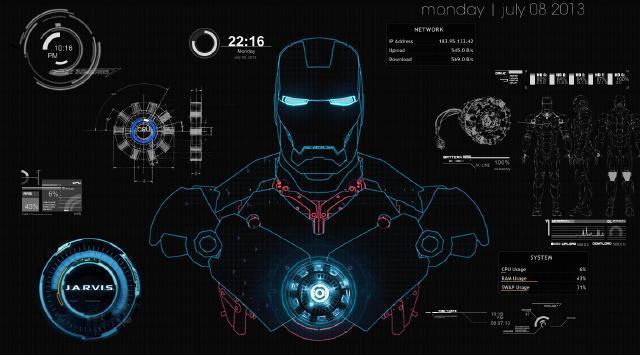 jarvis控制钢铁侠脱离本体保护pepper),这其实就是当下流行的人工智能图片