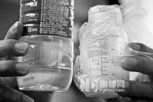 广州医院护工用白酒兑奶粉 7天大女婴洗胃
