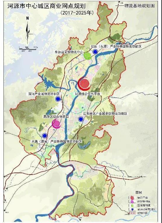 【重磅】河源准备在中心城区这些地方,打造9大商业中心!
