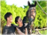与孩子到珠海骑马场一起拥抱大自然
