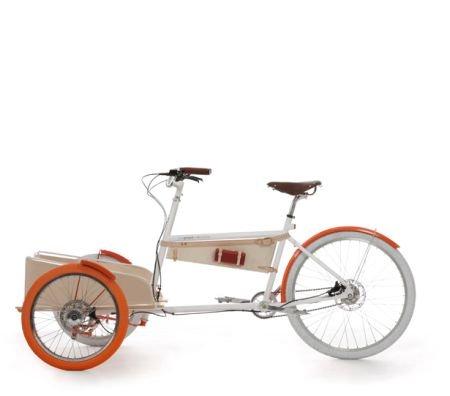 新型客货两用自行车图片
