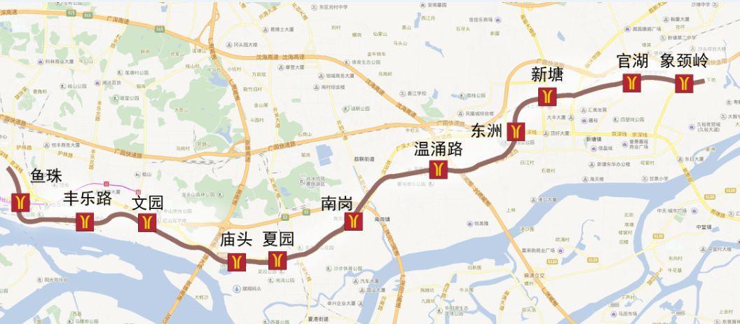 广州地铁十三号线首期官湖-象颈岭区间顺利贯通