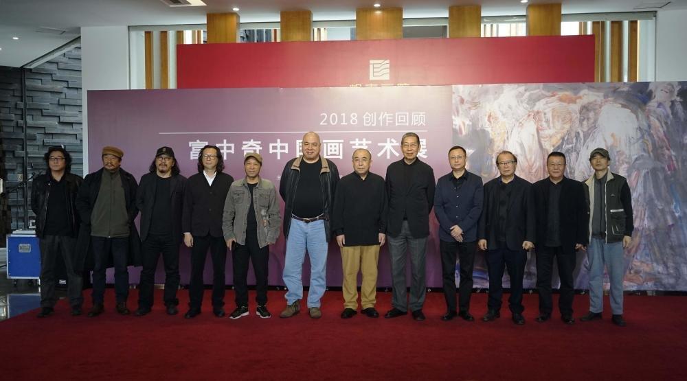富中奇2018创作回顾展在岭南美术馆开幕