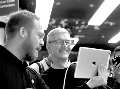 苹果公司发布新款iPad